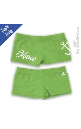 "Baby Boxer for the sea ""Name and Anchor"""