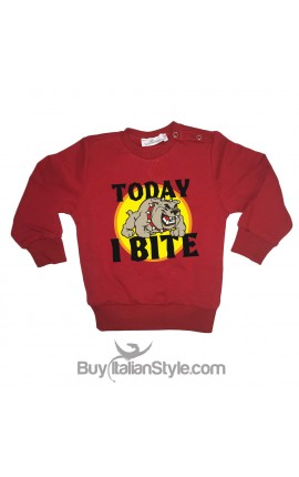 "Sweatshirt ""Today I bite"""