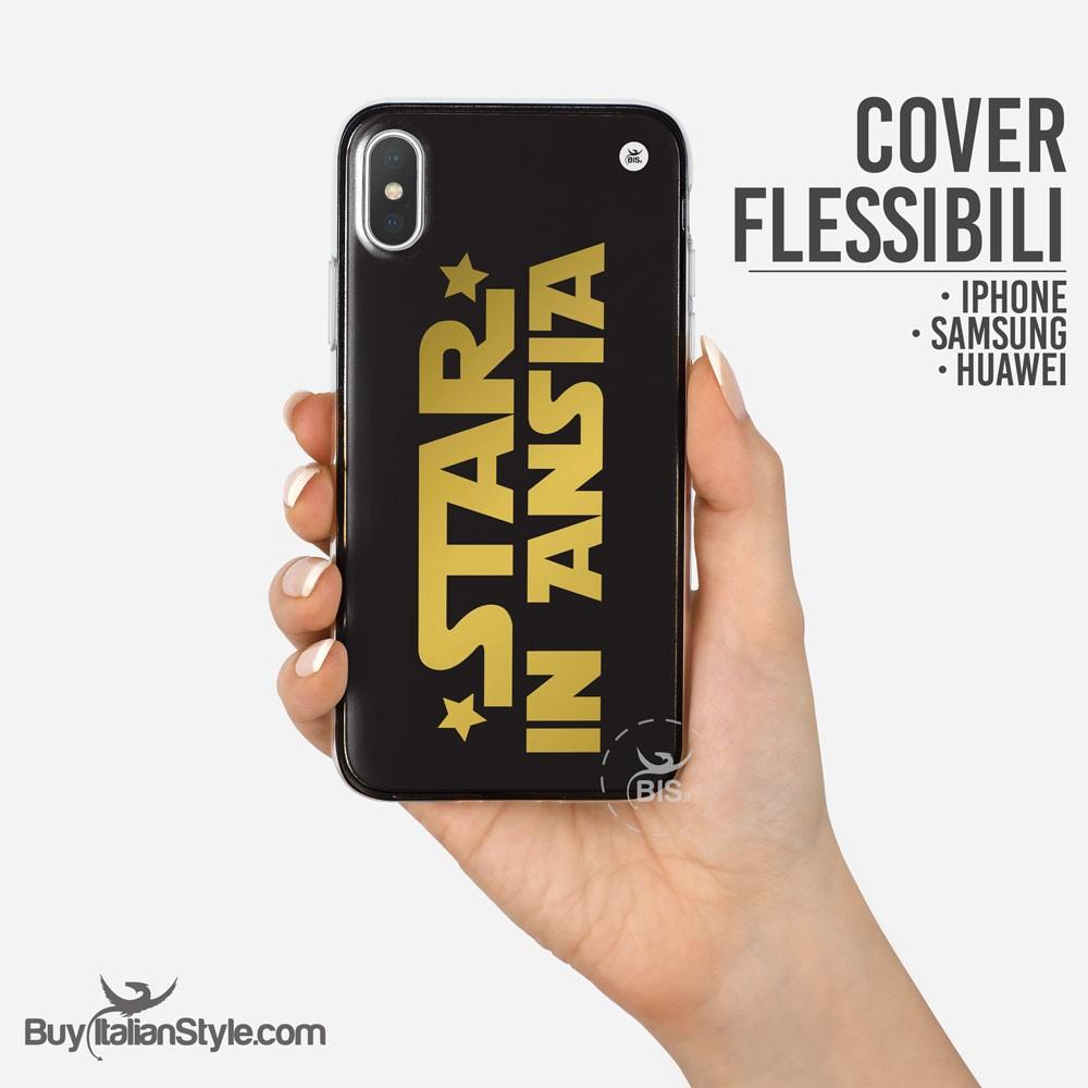 Cover custodia ironica idea regalo uomo single per iPhone Apple