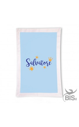 "Summer Blanket ""Baby Fish"" - Customizable with name"