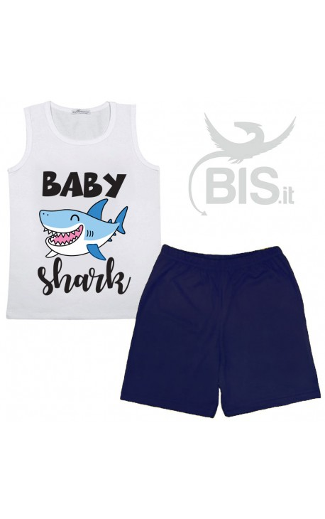 "Completino Estivo ""Baby shark"""