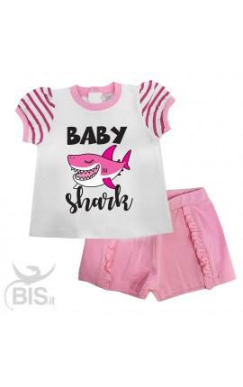 """Completo estivo bimba """"Baby shark"""""""