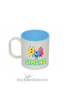 """Unbreakable plastic cup """"Baby shark"""""""
