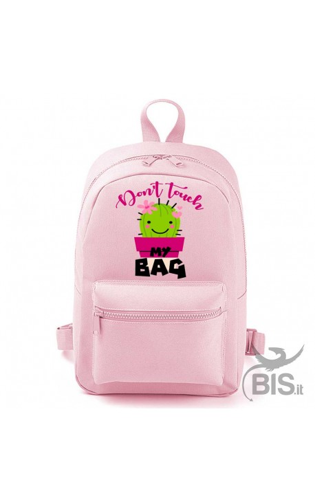 """""""Simplex"""" MINI / MAXI """"Don't touch my bag"""" backpack"""