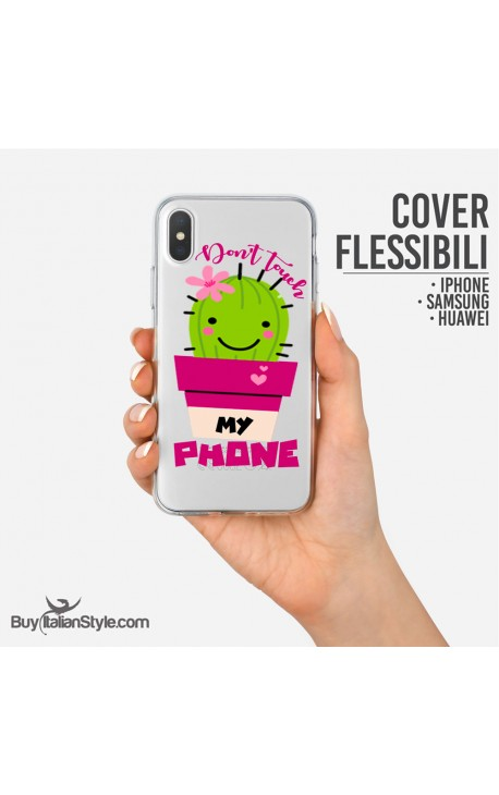 "Cover ""Don't touch my phone"""