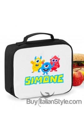 """Mini borsa frigo """"stelline e nome"""""""