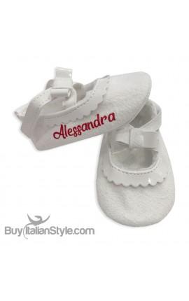 Ballerine neonata da personalizzare con nome
