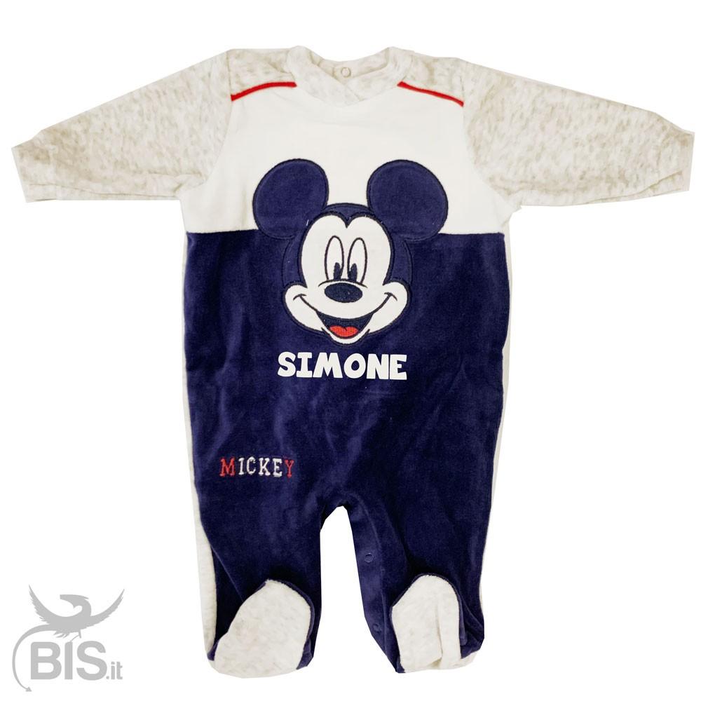 scarpe casual vasto assortimento professionale Tutina neonato in ciniglia