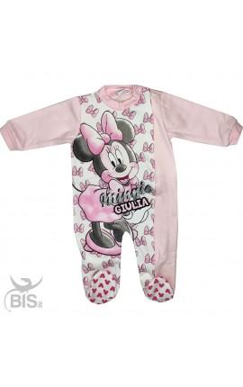 "Pigiama neonata invernale ""Minnie"""