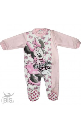 "Winter newborn pajamas ""Minnie"""