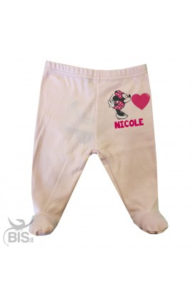 "Newborn little gaiters ""Minnie"" with name"