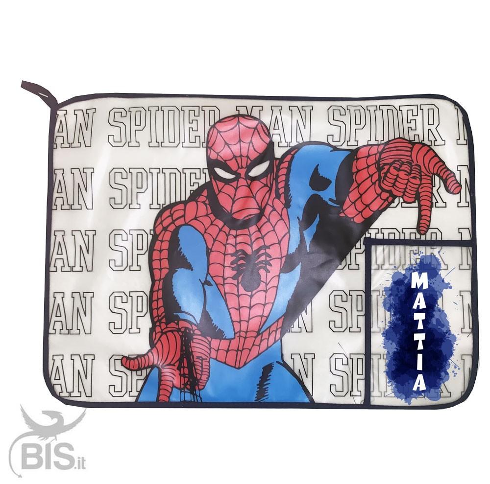 DISNEY Store Spiderman Super Eroe Porta Pranzo Tote Borsa Da Scuola Nuovo Regalo per ragazzi