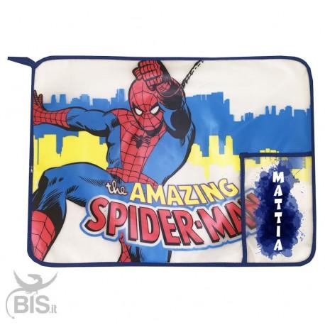 """Tovaglietta """"Spiderman"""" da personalizzare con nome"""