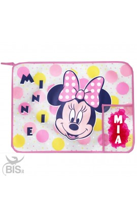 "Plastic Placemat ""Minnie"", customizable with name"