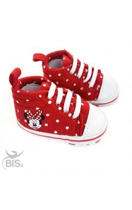 """Sneakers neonata a pois """"Disney"""""""