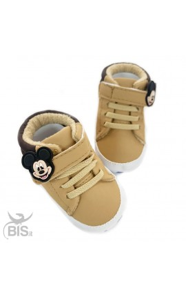 Mickey Mouse Baby Crib Shoes, Disney Collection