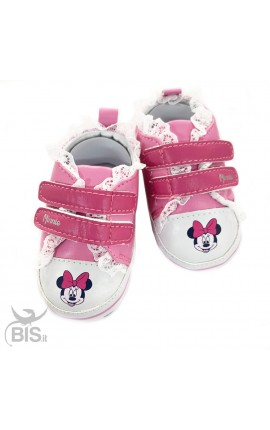 "Sneakers rosa neonata a ""Minnie"""