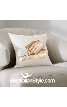 Federa cuscino Nascita da personalizzare