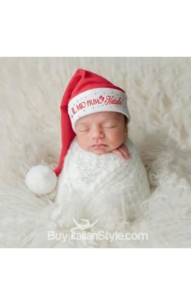"""Cappellino """"Il mio Primo Natale"""""""