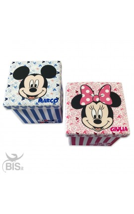 """Box contenitore e pouf """"Disney"""" personalizzabile"""