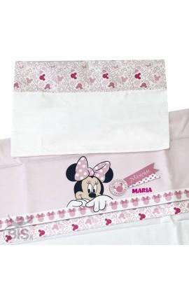 """Set lenzuola neonato/a """"Disney"""" da personalizzare"""