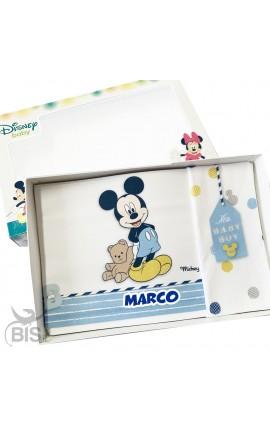 """Set lenzuola """"Mickey mouse"""" da personalizzare"""