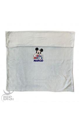 """Plaid/copertina """"Disney"""" con nome"""