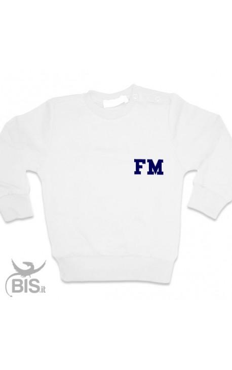 Customizable Sweatshirt with Little boy's initials