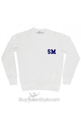 Man' Sweatshirt customizable with initials