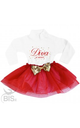 "Little dress with organza skirt, ""My first Christmas"""