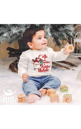 """Felpa bimbo """"L'elfo più carino di Babbo Natale"""""""