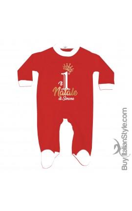 Customizable Newborn all in one Santa Claus