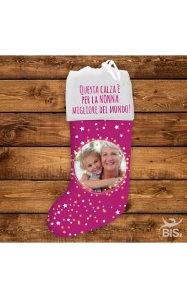 """Calza personalizzabile """"Per la nonna migliore del mondo"""""""