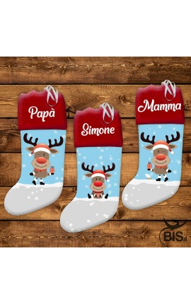 Customizable stocking with name