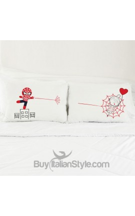 "Love Couples pillowcases ""To infinity and beyond"""