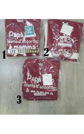 Tris magliette BIMBA 9/11 anni manica lunga OUTLET