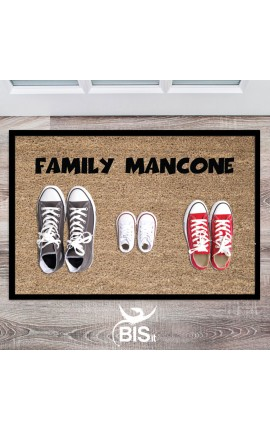 Doormat/Interior rug customizable with family' surname