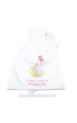 "Personalized First Change Bag ""Baby Unicorn"""