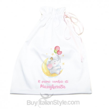 """Personalized First Change Bag """"Baby Unicorn"""""""