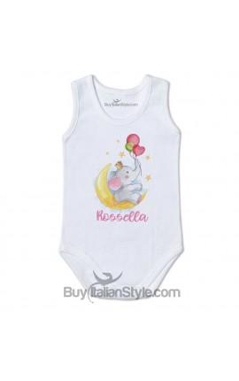 "Personalized Baby Bodysuit ""Baby Unicorn"""