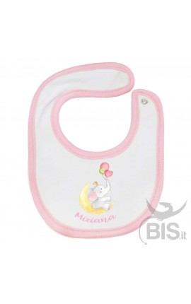 """Customizable Baby Bib """"Baby Unicorn"""""""