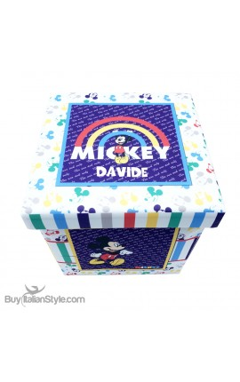 """Container Box and Pouf """"Disney"""", to personalize"""
