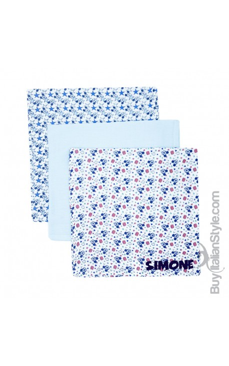 "Dressing squares, Disney Collection, ""Mickey Mouse + name"""