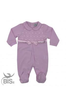 Completino elegante neonata da personalizzare con nome