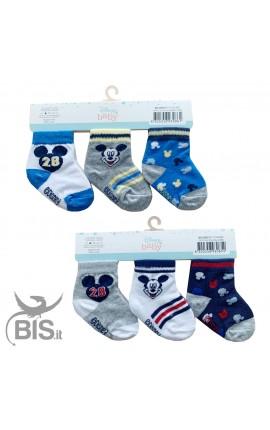 """Kit socks """"Minnie"""", 3 pairs"""