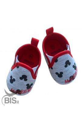 """""""Minnie"""" Newborn Flat Shoes"""