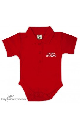 "Personalized Polo Shirt Bodysuit ""MINI Boss"""