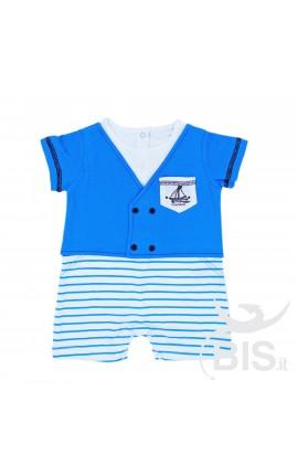 Pagliaccetto neonato marinaio