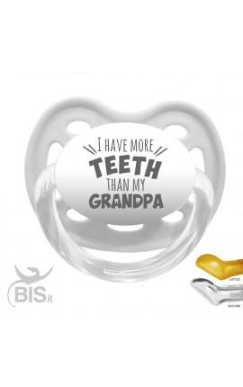 ciuccio love ho più denti del nonno