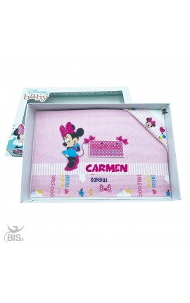 """Cradle Sheets Kit """"Minnie"""" to personalize"""